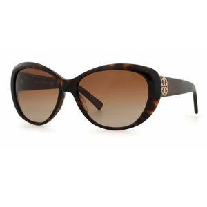 Tory Burch tortoise shell sun glasses TY7005